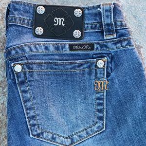 """Miss Me Signature Skinny Cropped Jeans, Size 28"""""""
